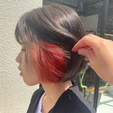 インナーカラー inside haircolor