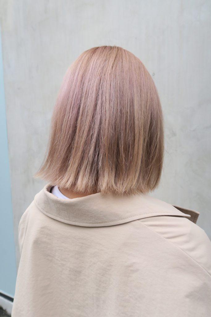 カラー ハイトーン 白髪もお洒落にいかしてハイトーン外国人風カラーにするには積み重ねが1番【かずえさん】の髪色@名古屋@塩釜口