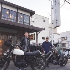 柳川さんとバイクでお客様が働くアンティークショップに行ってきました!