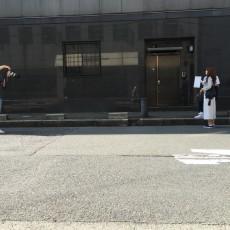 雑誌のスナップ撮影に清水さん・かっつん・僕の3人が参加させて頂きました。