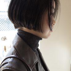 """クールな雰囲気に合わせた髪色""""ダークグレー"""""""